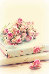 Pink ~ Books ~ Roses ~ Beautiful | We Heart It | book ...