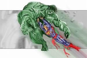 Hulk VS Superman by PaulVincent on DeviantArt