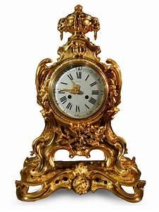 Pendule à Poser : grand cartel pendule en bronze dor xixe si cle ~ Teatrodelosmanantiales.com Idées de Décoration