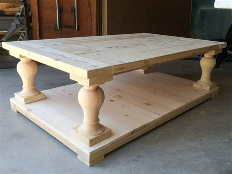 baluster coffee table i built my coffee table and i still all my 1456