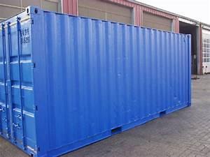 Seecontainer 40 Fuß Gebraucht : 40 seecontainer gebraucht mit neuer lackierung in ral 5010 24 ~ Sanjose-hotels-ca.com Haus und Dekorationen