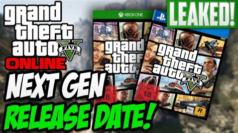 Leaked Xbox One And Ps4 Release Dates!