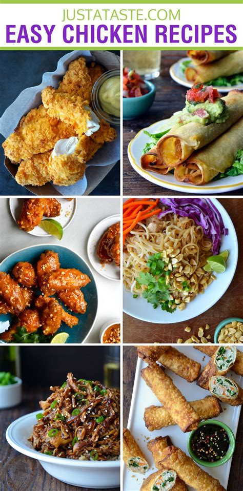 easy recipes for one quick and easy chicken recipes