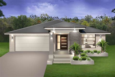 Fresh Single Story House Designs by Seachange Single Storey Marksman Homes Illawarra And
