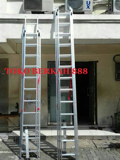jual tangga aluminium extension tangga sorong tangga