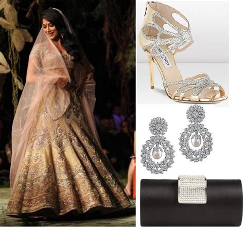 baby earrings gold tarun tahiliani beige lehenga for indian brides indian