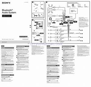 Sony Cdx Gt660up Wiring Diagram