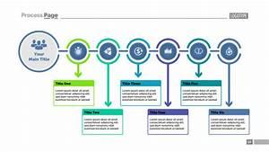 Six Steps Process Chart Slide Template  Business Data