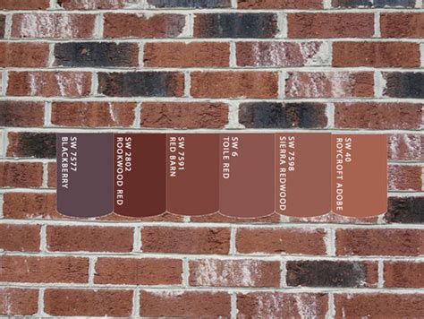 what colour goes with brick need exterior color ideas for siding and trim on red brick