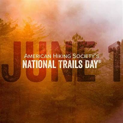 National Trails Hiking Graphic American