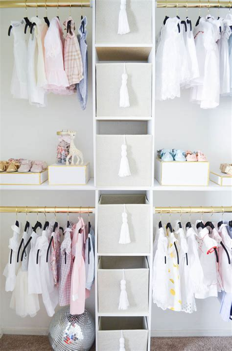 How To Create A Glam Custom Nursery Closet On A Budget