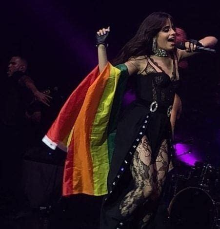 Camila Cabello Delights Fans She Performs With Pride