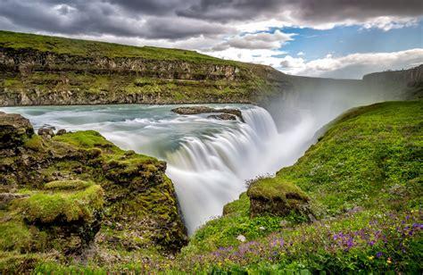 Gullfoss Waterfall Backgrounds by Gullfoss 4k Ultra Hd Wallpaper Background Image