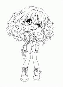 Cartoon Girl Coloring Pages anime girls coloring pages for