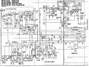 Service Schematic Diagrams Itt Compact 80 Colour Television