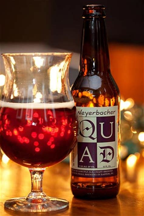 Beer Quad Weyerbacher Quad