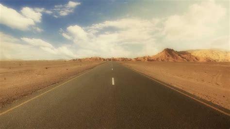 road  desert  footage full hd p youtube