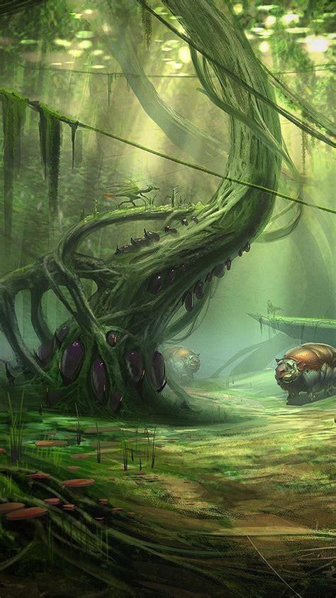 alien landscape wallpaper wallpapersafari