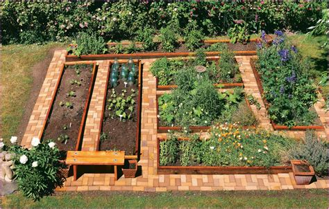 raised bed vegetable garden plans woodwork plan resources