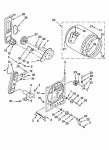 Kenmore Elite He3 Dryer Parts Diagram