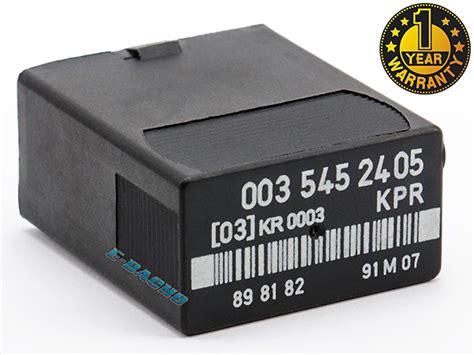 mercedes c124 s124 w124 w201 w126 r107 fuel relay 0035452405 ebay