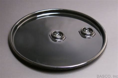 metal pail steel drum cover for 55 gallon steel drum with fittings