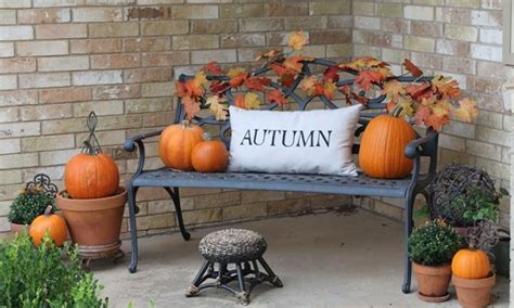 Decorating Ideas For Fall Outside by Outdoor Fall Decorating Ideas Fall Front Porch Decorating