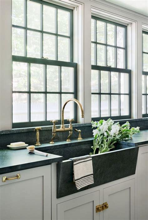 cool modern farmhouse kitchen sink decor ideas