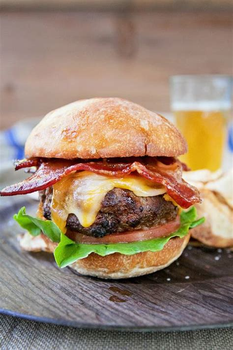 air bacon burger recipes fryer hamburger recipe chef bourbon jean cook cooking fryers delish healthy delicious food fabulesslyfrugal easy cooked