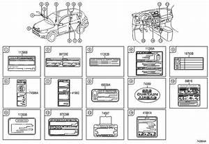 2005 Scion Tc Label  Leak  Detection  Info  Diagram