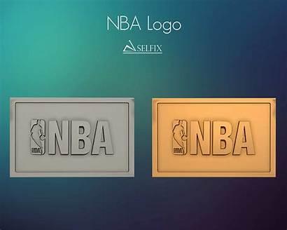 Nba Relief Logos Signs Models Cgtrader