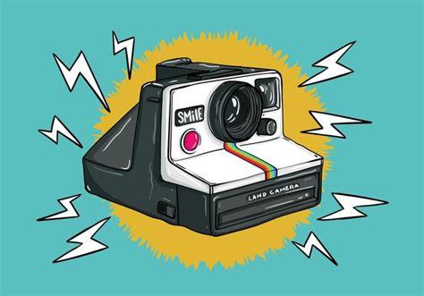 polaroid retro retro polaroid kamera vektor kostenlose vektor kunst