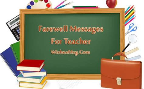 farewell quotes  teacher wishes  messages wishesmsg