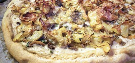 comment cuisiner tofu pizza tartiflette vegan aux chips de pommes de terre