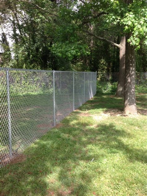 chain link fence signature fence company richmond