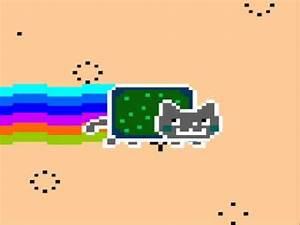 Neon Cat Nyan Cat Parody