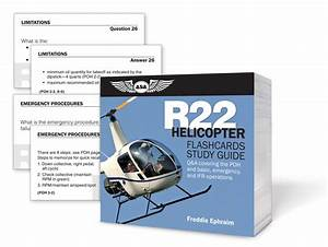 Asa R22 Helicopter Flashcards Study Guide