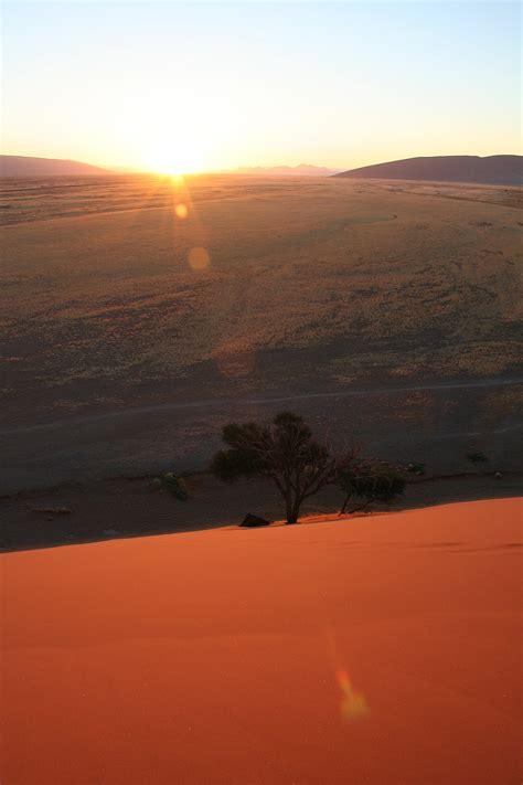 sunrise sesriem namibia freemages