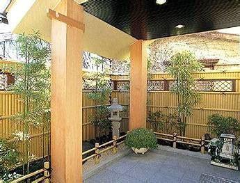 bamboo post rail fence
