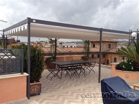 pergole per terrazzi pergole per il terrazzo addossate o autoportanti