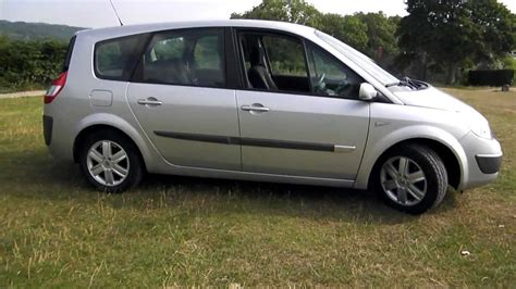 renault scenic 2005 tuning 2005 renault grand scenic 1 5 dci 7 seat 60 000 miles