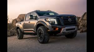 2014 toyota tundra trd supercharger nissan titan warrior concept makes debut at the 2016