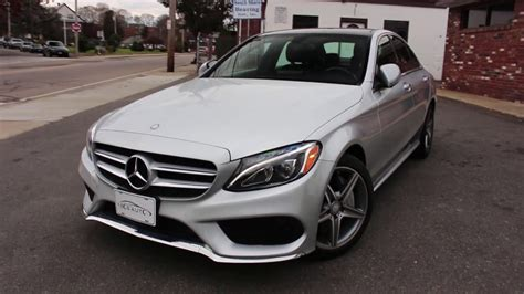 2015 C300 4matic Review by 2015 Mercedes C300 4matic Review Start Up Revs
