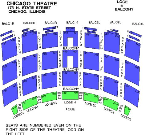 venue seating charts fm chicago  drive wdrv