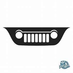 Liberty KJ Grille Windshield Decal   Products, Liberty and ...