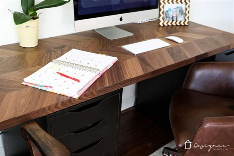 office kitchen ideas easy and gorgeous ikea desk hack designer trapped