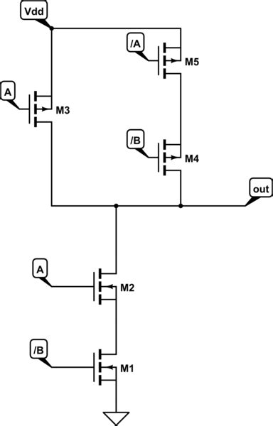 Create Cmos Circuit From Logic Function