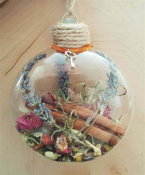 Wiccan Decor - new home blessing ornament witch herbal blessing