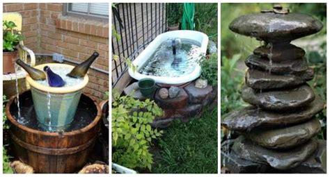 faire une fontaine cuisine comment faire une fontaine de jardin soi meme design de