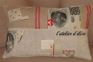 Création Avec Tissus : nouvelles cr ation avec ce magnifique tissu l 39 atelier d 39 elise ~ Nature-et-papiers.com Idées de Décoration